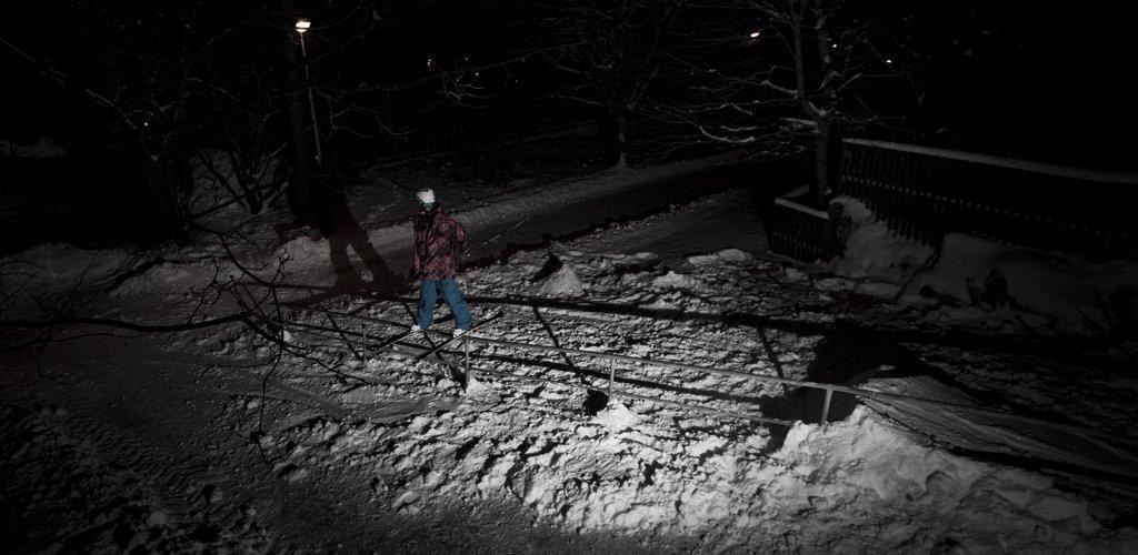 Railing in the Dark