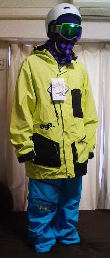 Ecto jacket and hybrid pant