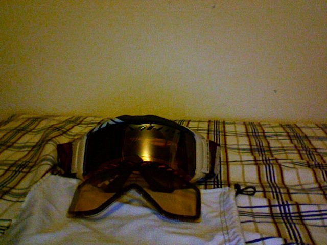 Smith goggles with extra lense
