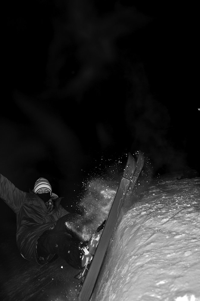 Cole Sliding The Pipe