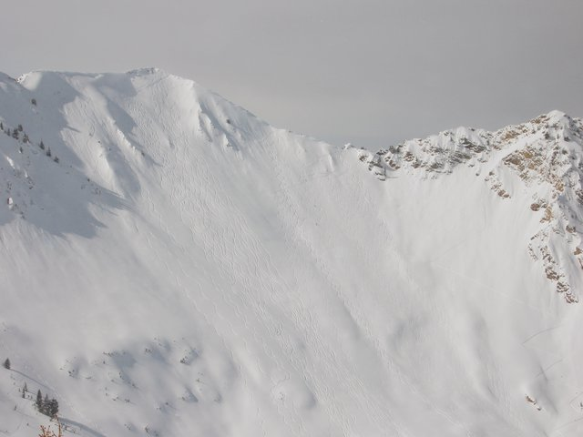 Heli skiin- utah, cardiac ridge