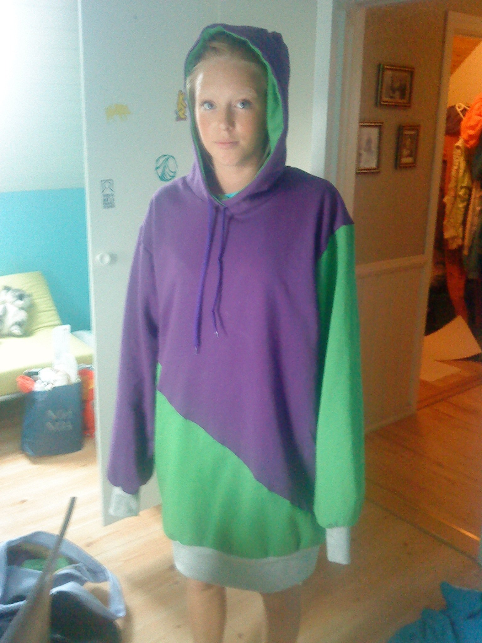 Homemade hoodie