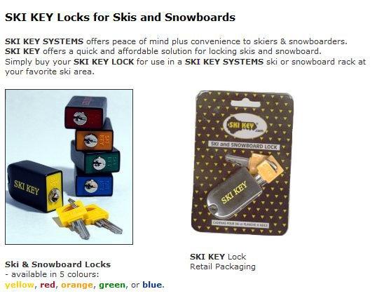 Ski key package