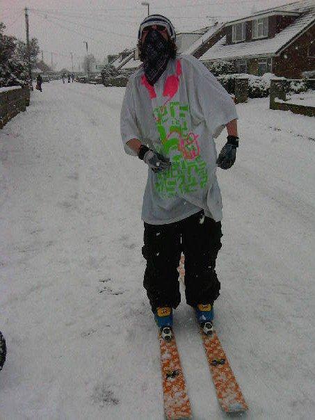 Street Skiing in the UK