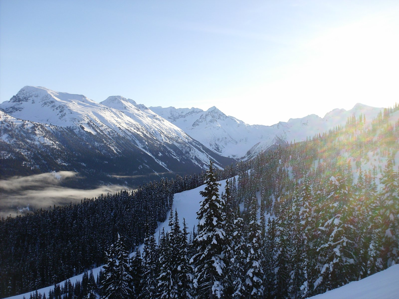 A view from whistler