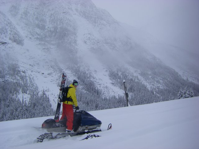 North cascades 'mobile skiing