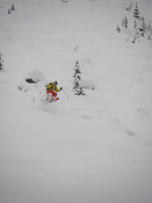 North cascades pow