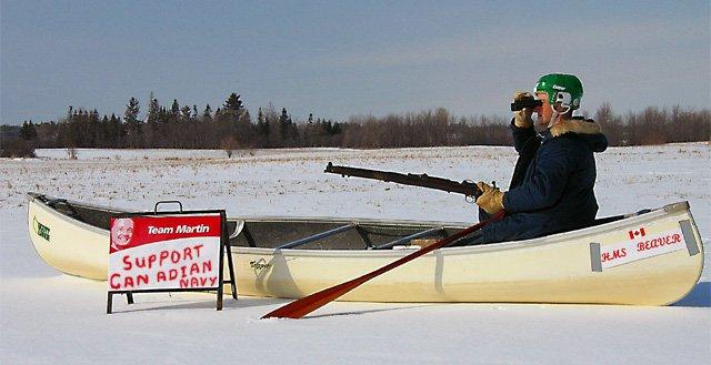 Canadian navy power
