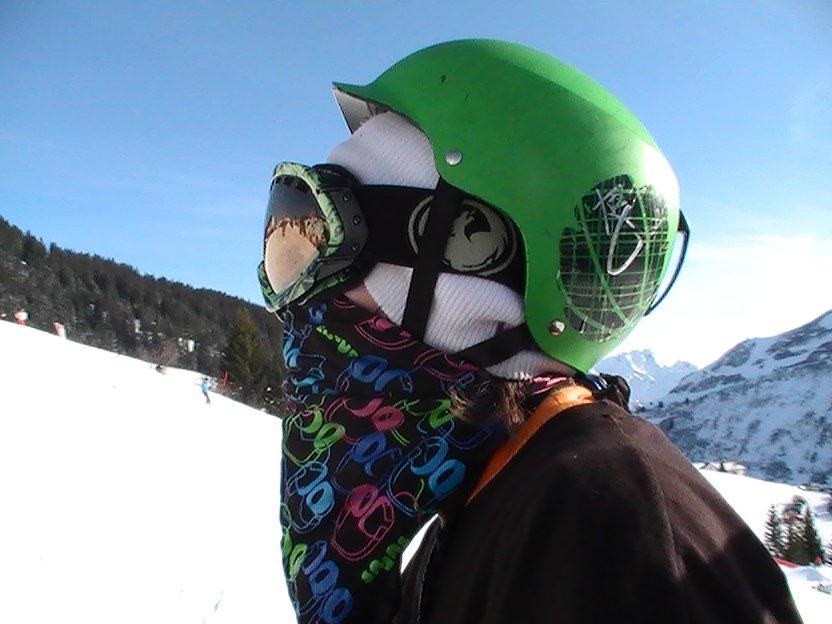 At Skiing