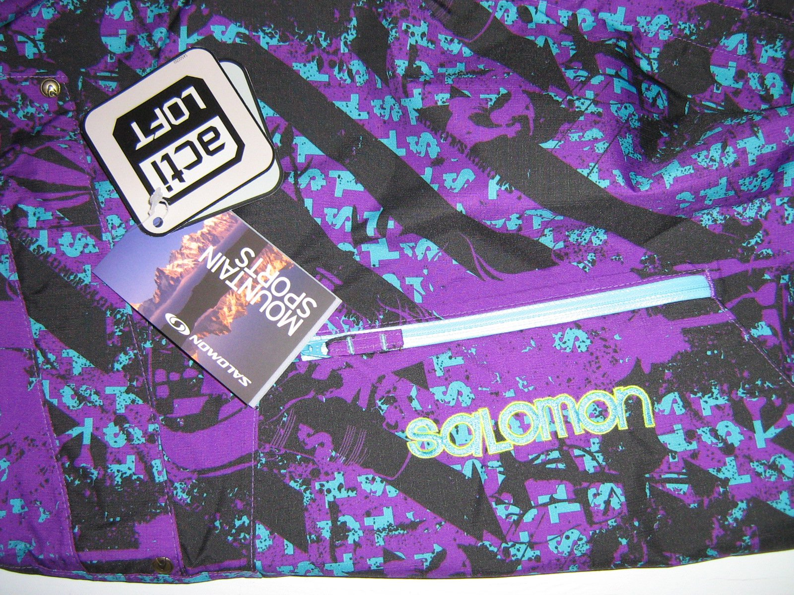 Salomon tags