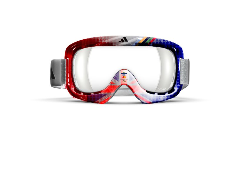 Olympic goggle submission