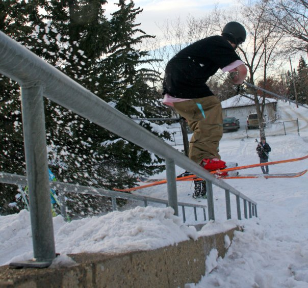 Cool down rail shot