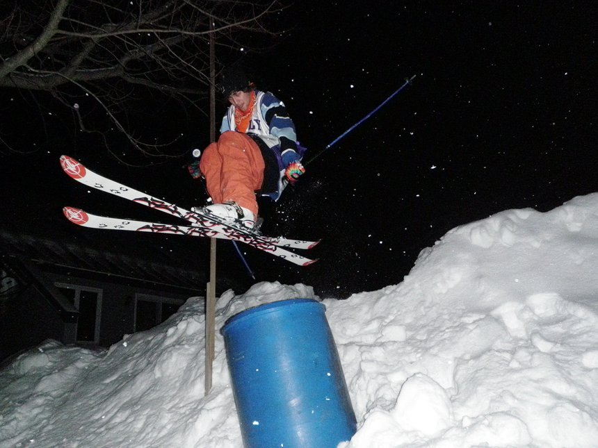 Backyard Barrel Jib