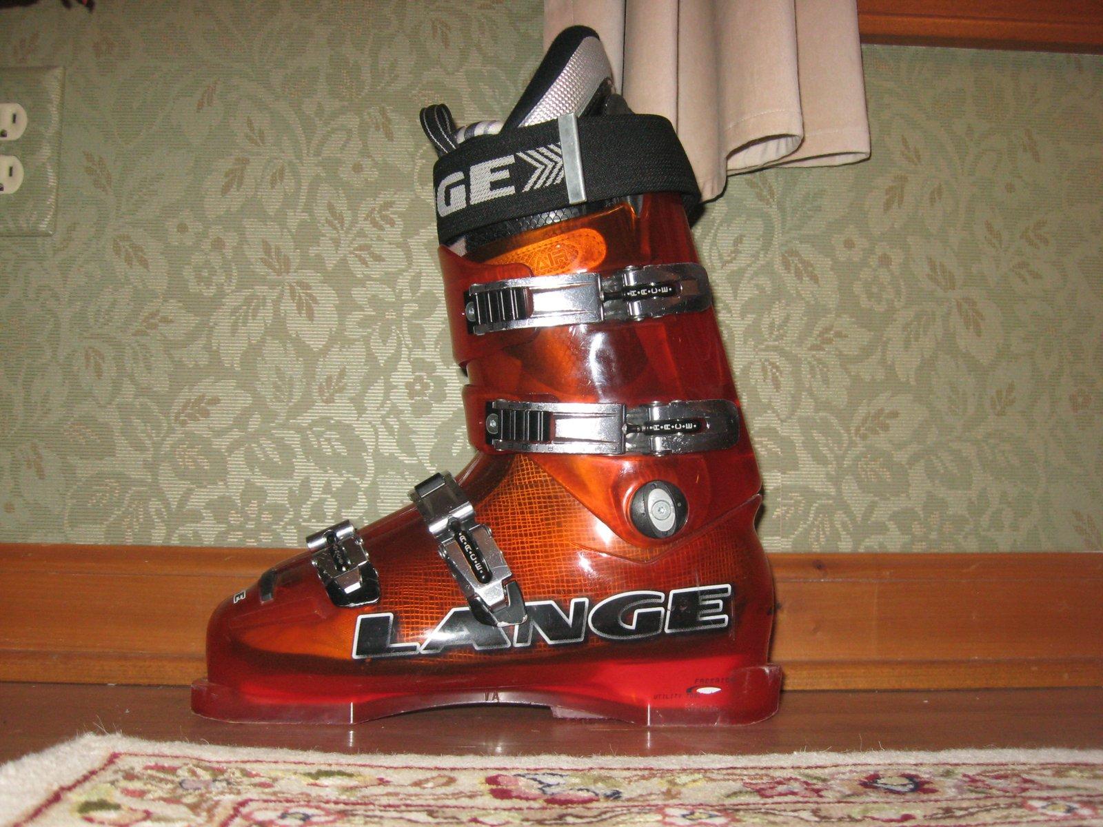 Lange freeride 130 boot 27-27.5