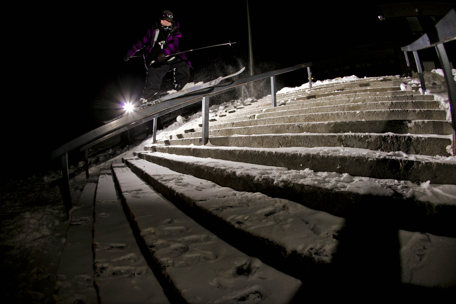 Seb Eaves-Mistral rail