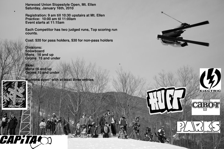 HUFT Slopestyle Competition