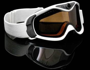 Goggles with camera