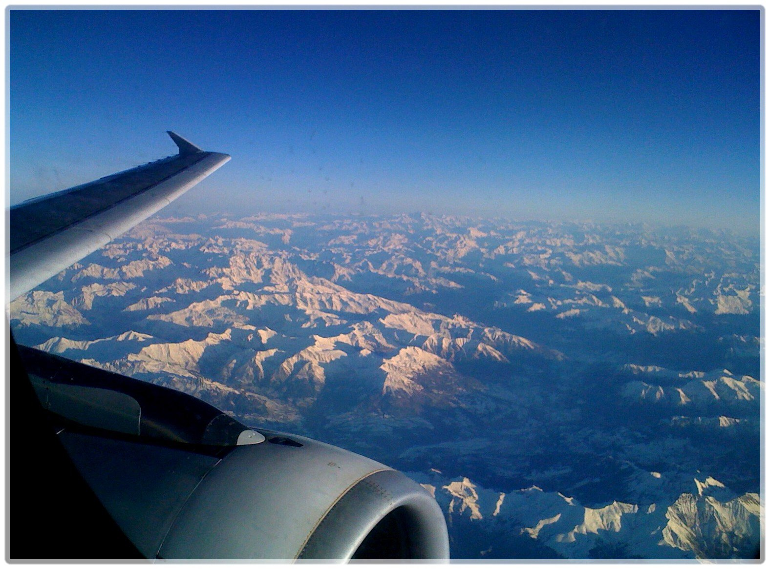 The Alps from a plane II