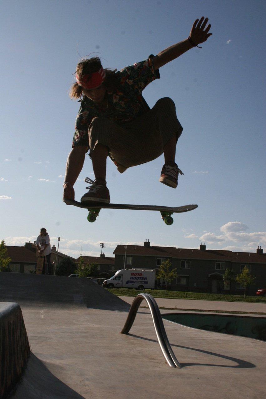 Wheelie boarding