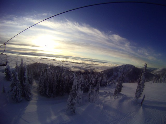 Good Morning Red Mountain!