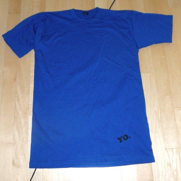Akinz blue yo tall tee