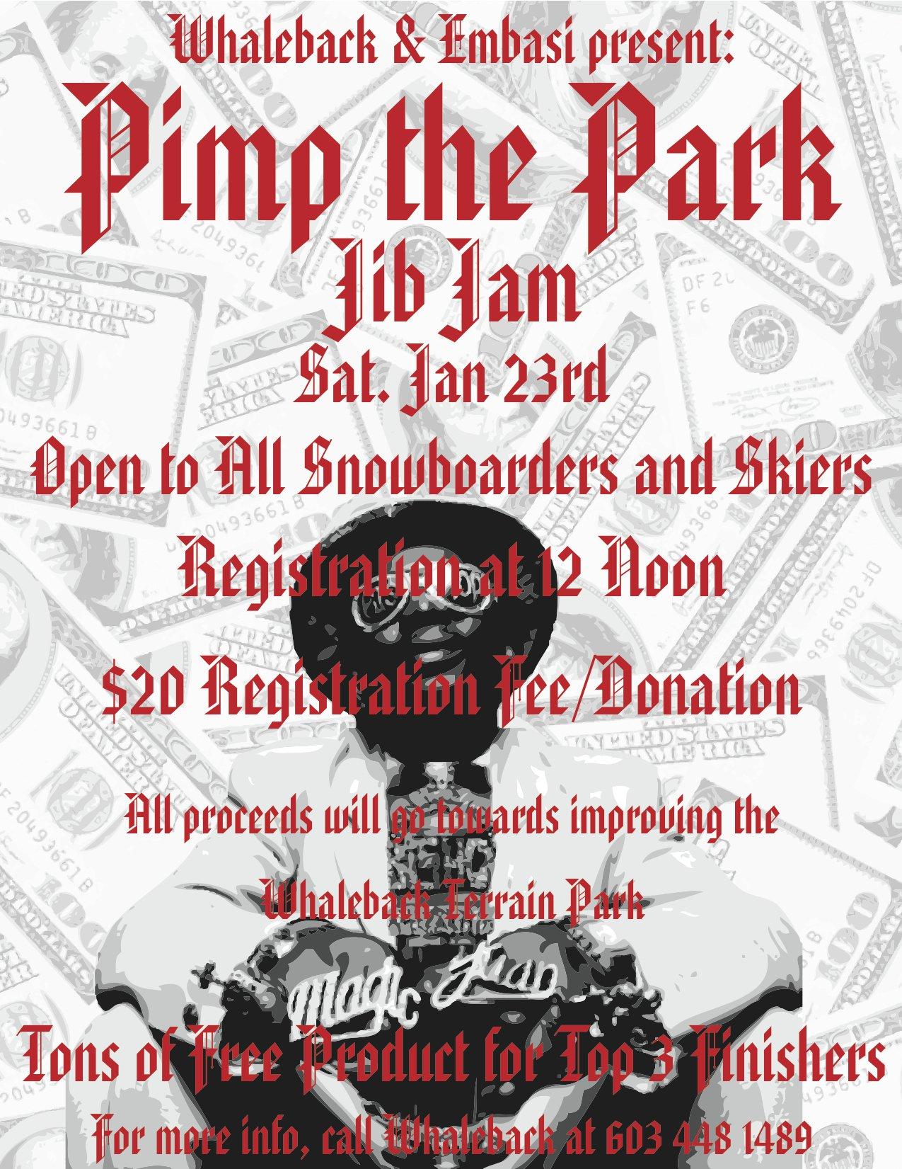 Pimp The Park Jib Jam