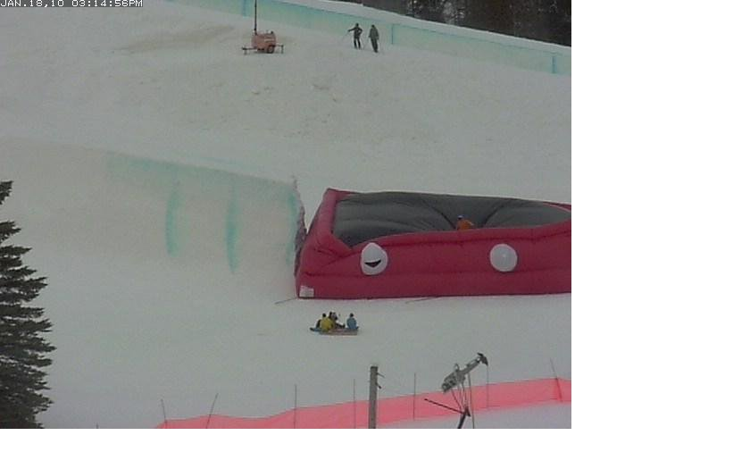 Otsego Airbag - from the webcam