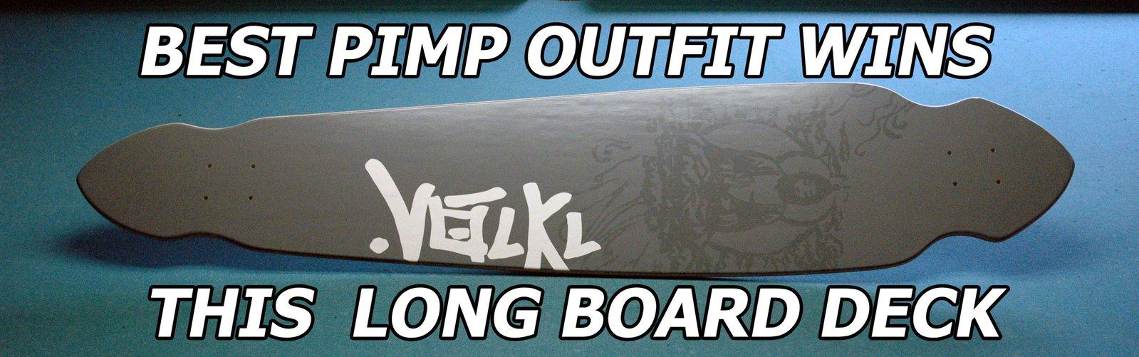 Pimp the park long board