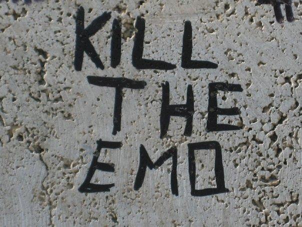 Kill the emo?
