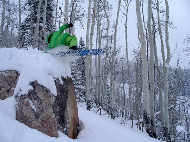 Team skier Josh Satterfield
