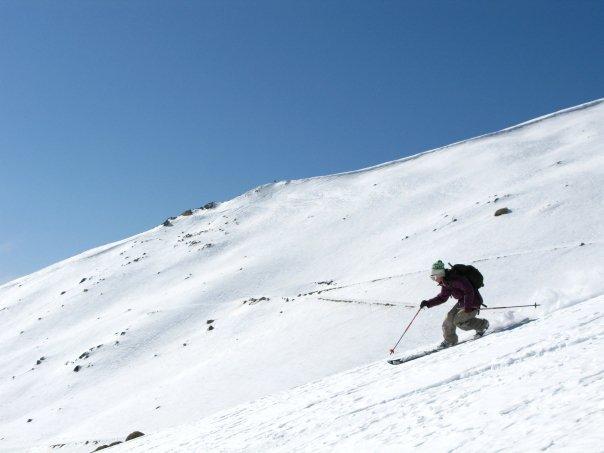 India skiing