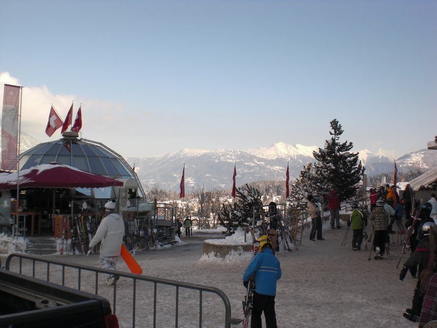 Base at Laax
