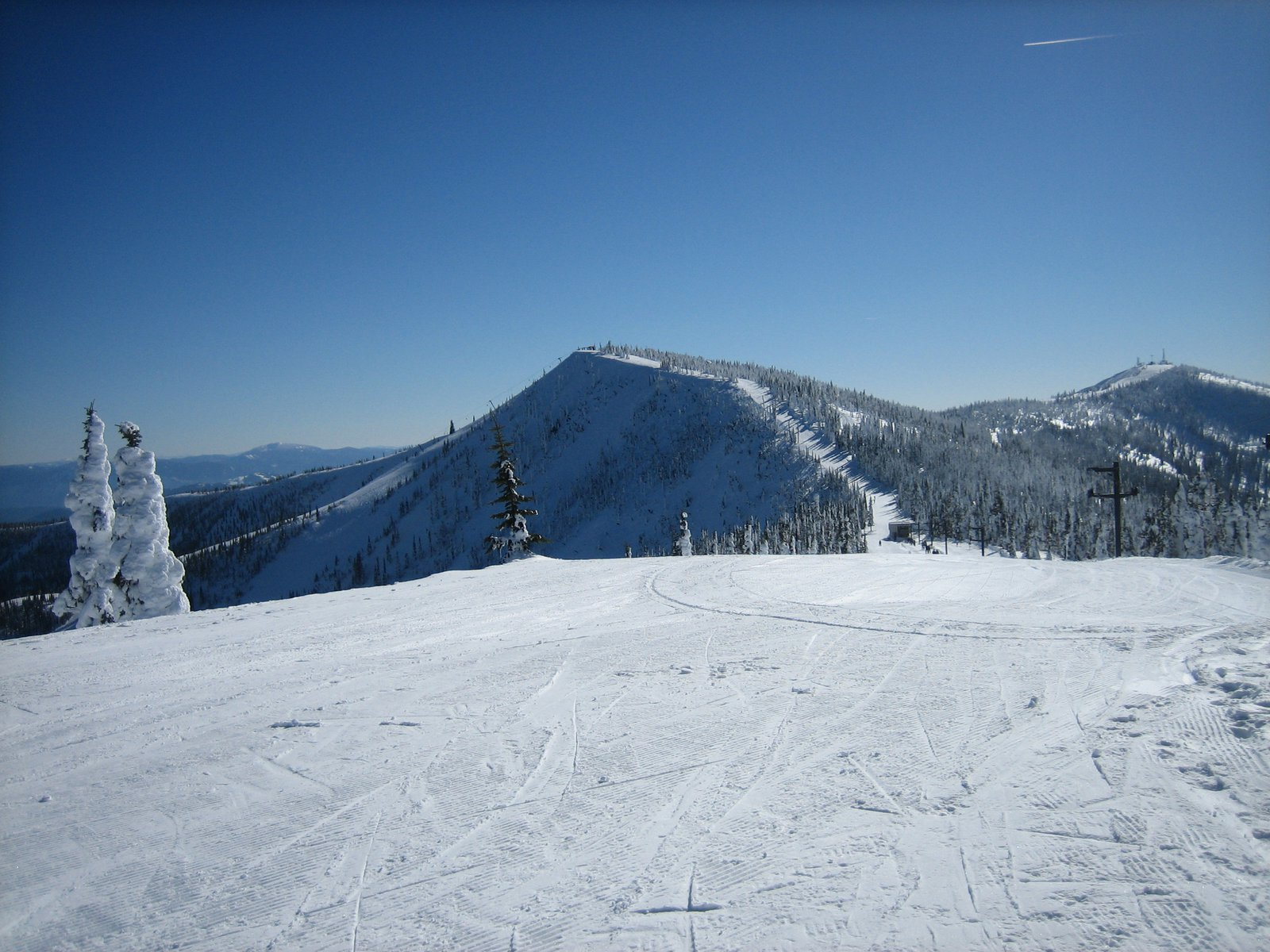 The Summit at Schweitzer from Little Blue