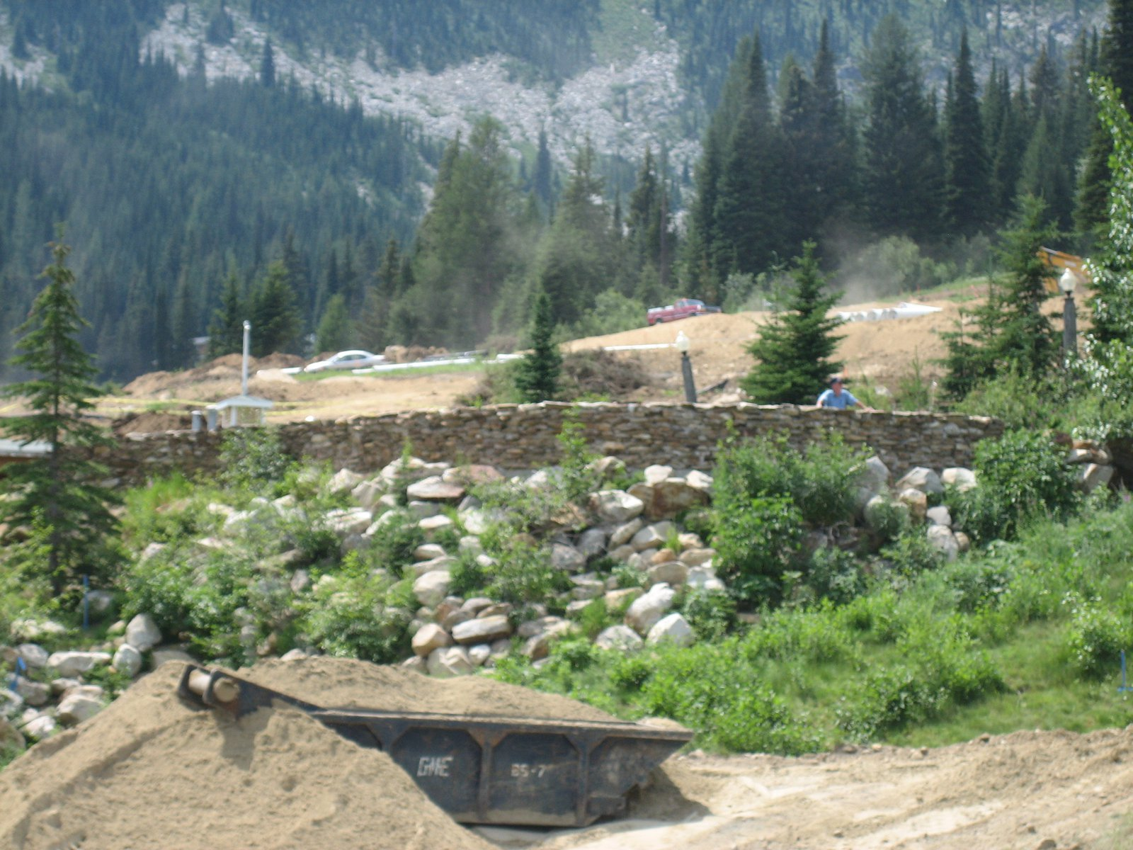 Construction at Schweitzer Mountain Resort, Summer 2007 - 2 of 8