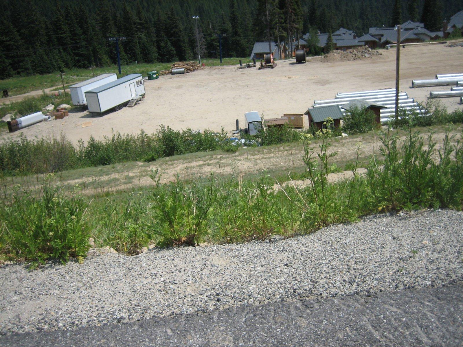 Construction at Schweitzer Mountain Resort, Summer 2007 - 4 of 8