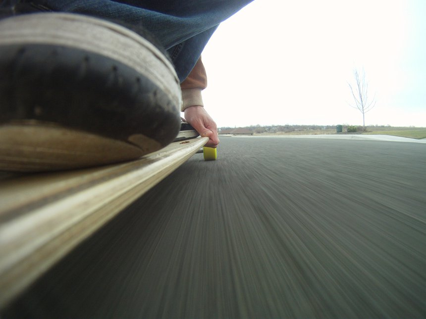 Slightly creative GoPro shot.