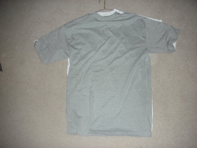 "Grey 5XL available (33"" in length)"