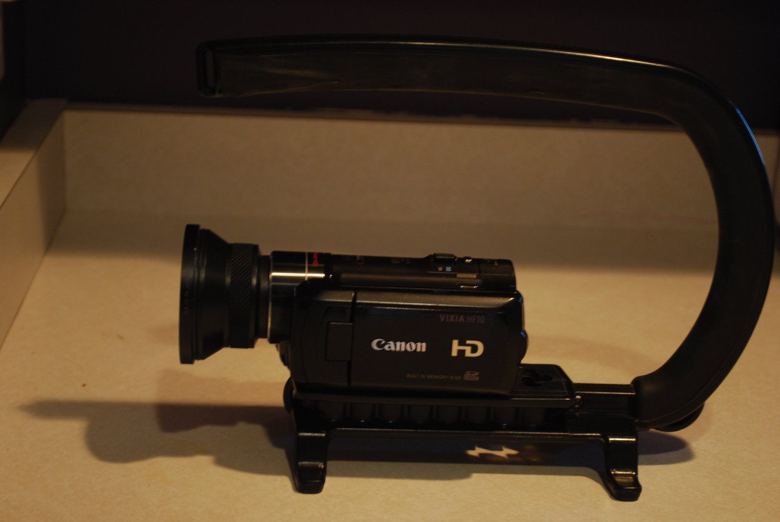 Canon Vixia hf10 With extras sale