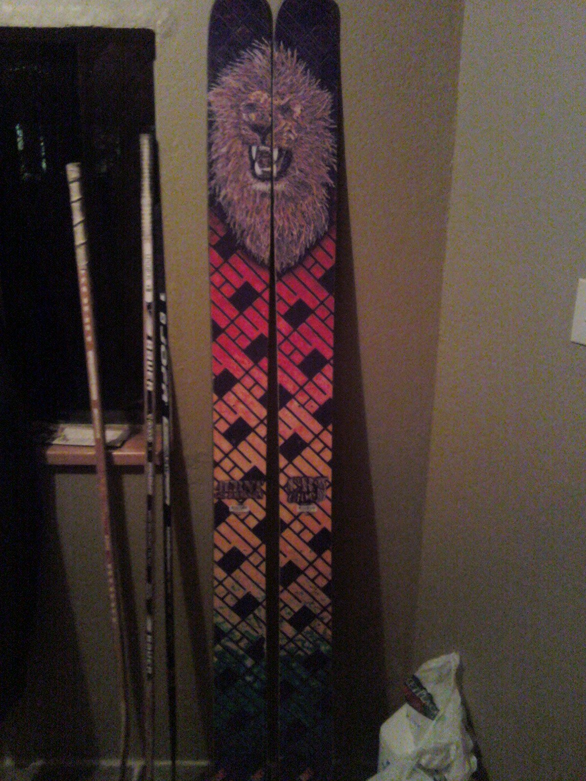My new pow skis!