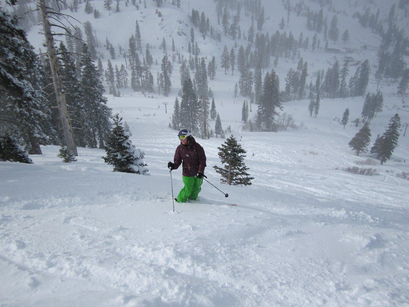 Alpine pow pow