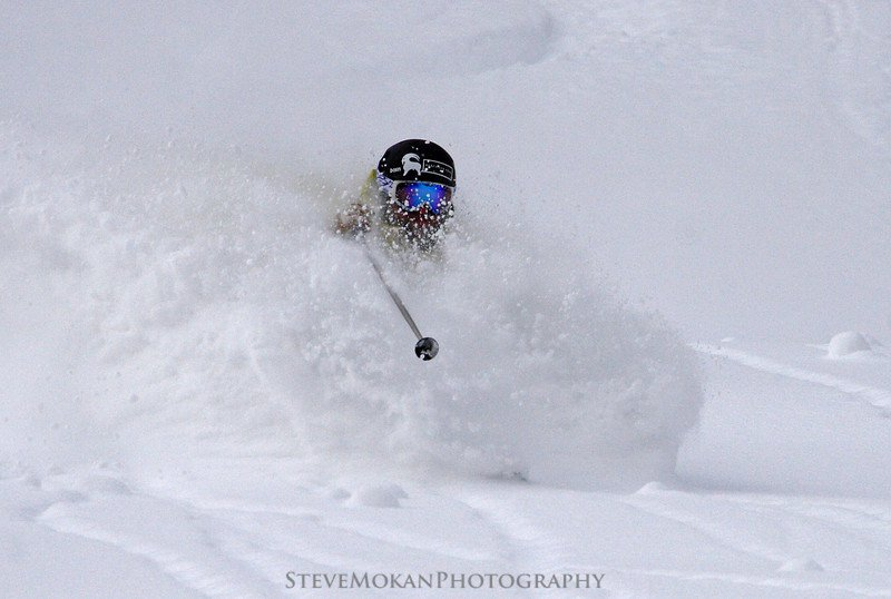 Neck-deep in Powder