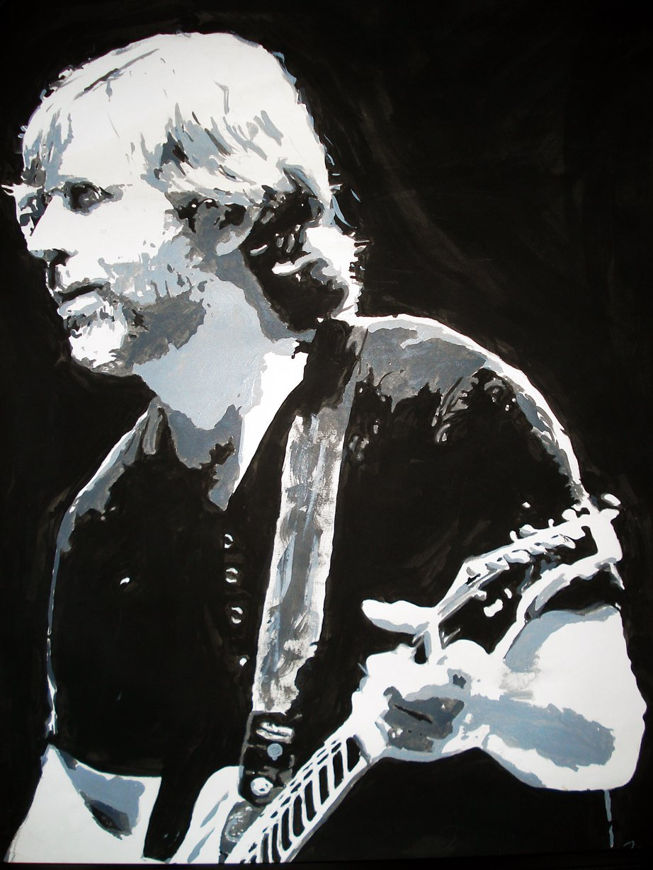 Painting of trey anastasio