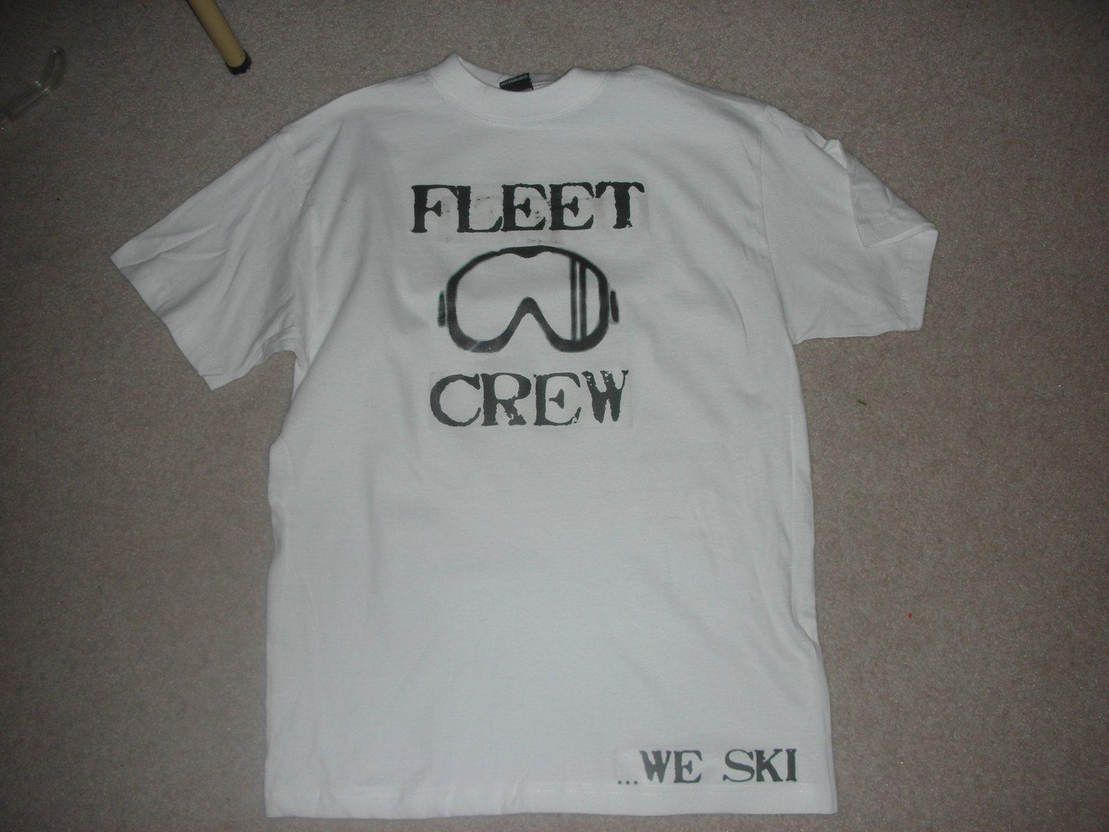 Custom Tall Tees. Fleet Crew.