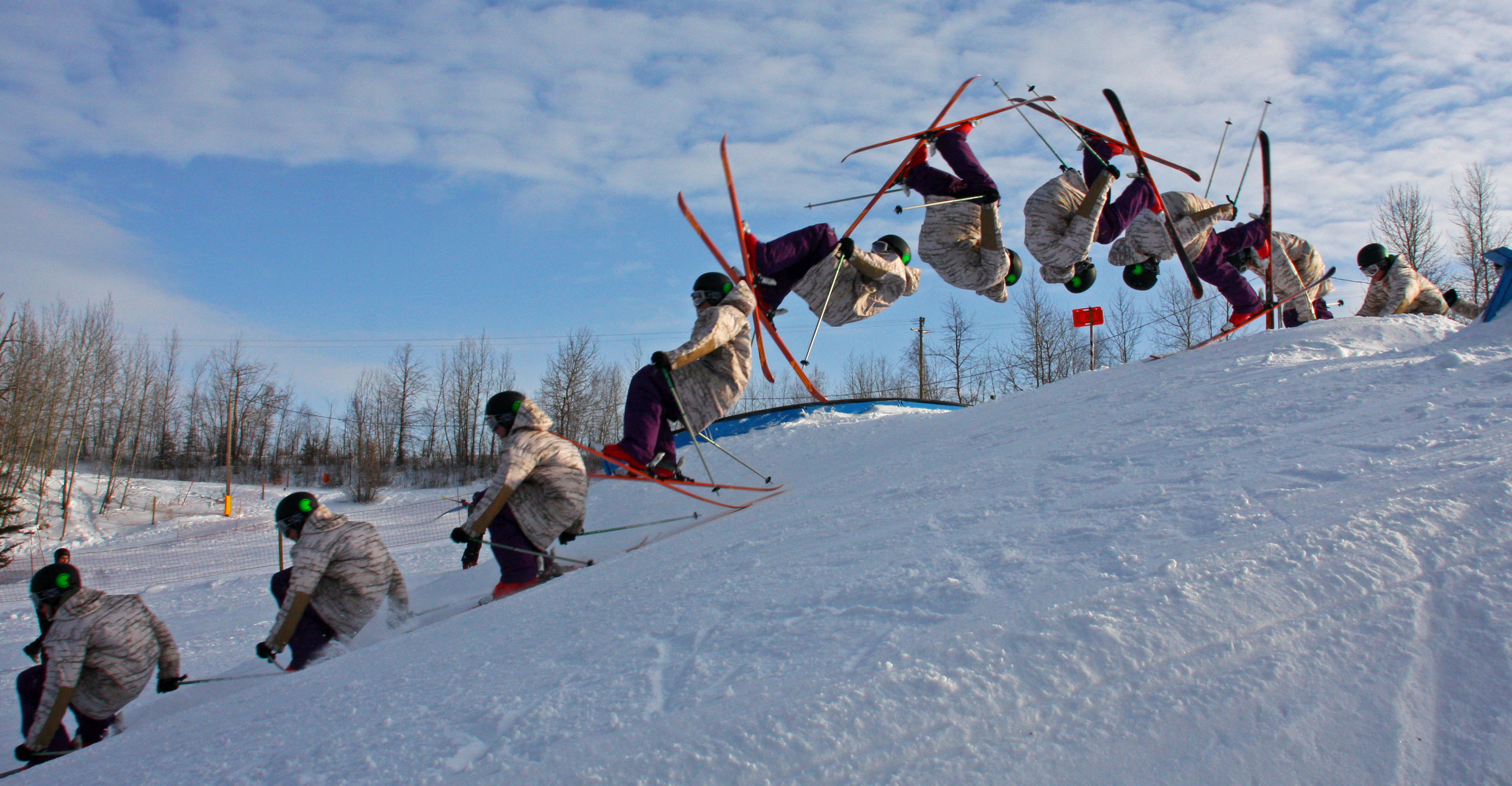 Front Flip Sequence