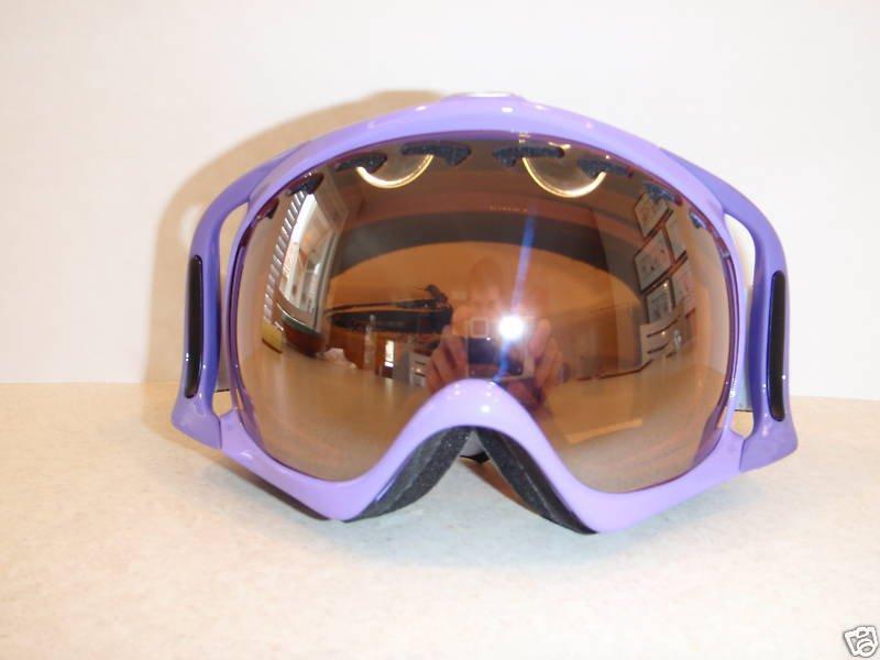 Purp pirate goggles/black iridium lense
