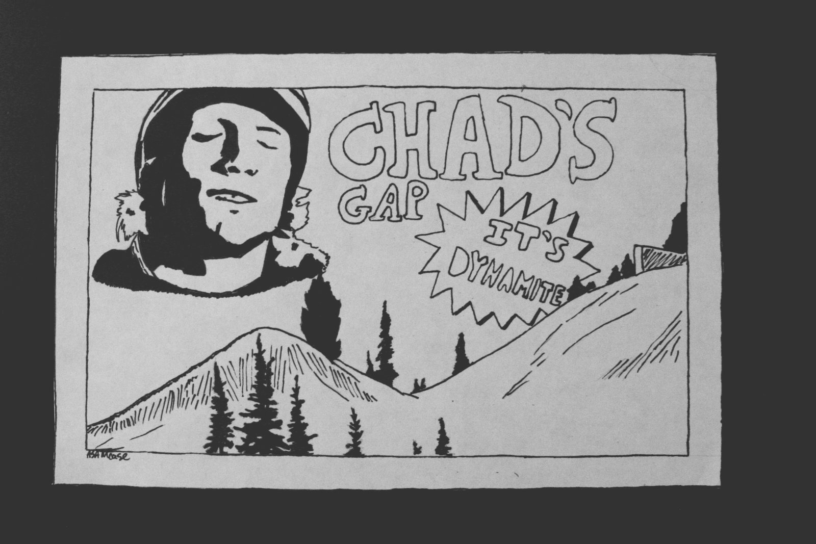 Chads gap cartoon