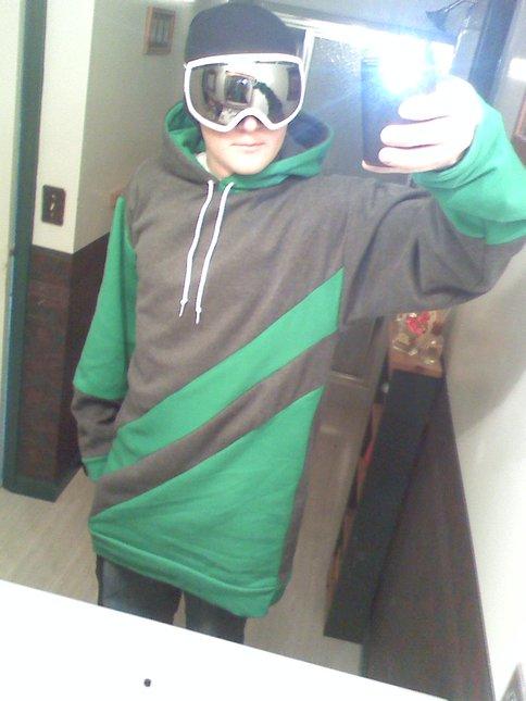 Homemade Tall hoodie