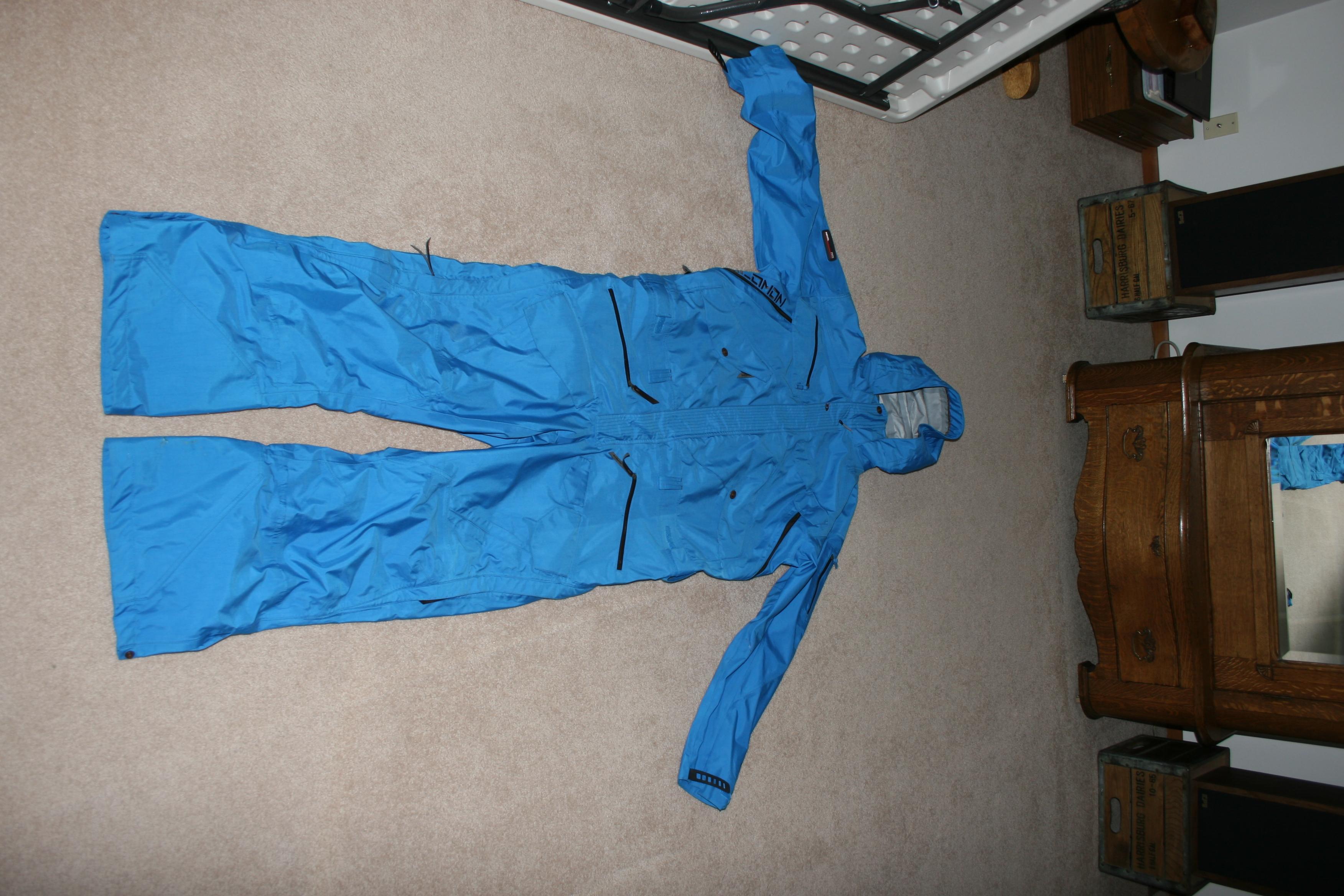 XL Conspiracy suit.
