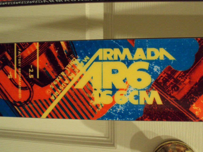 2010 Armada AR6 166cm