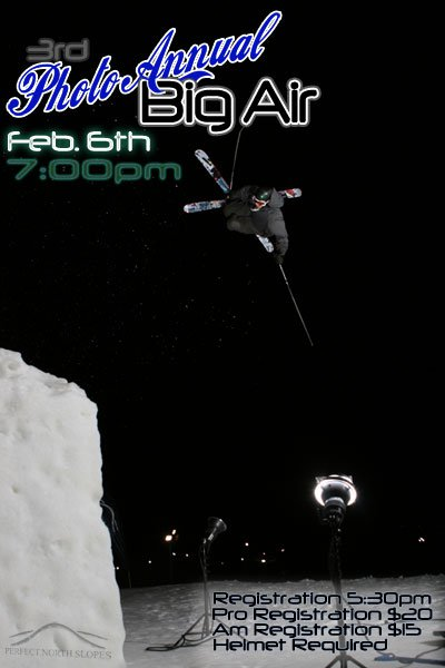 3rd Photo Annual Big Air Comp.